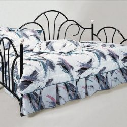 Crownmark-Black-Peacock-Daybed