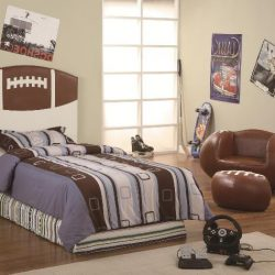 Crownmark-Football-Twin-Headboard