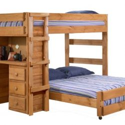 Pine-Crafter-Furniture-3923-Full-and-Full-Loft-Bed