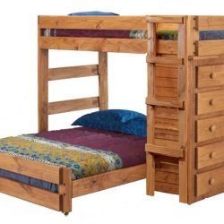 Pine-Crafter-Furniture-3977-Twin-Full-Loft-Bed
